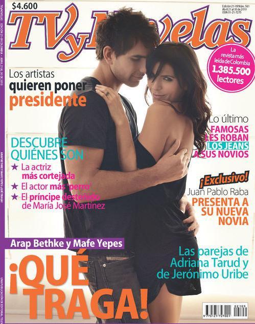 Maria Fernanda Yepes Es Portada De TV Y Novelas | Televisión Y Algo